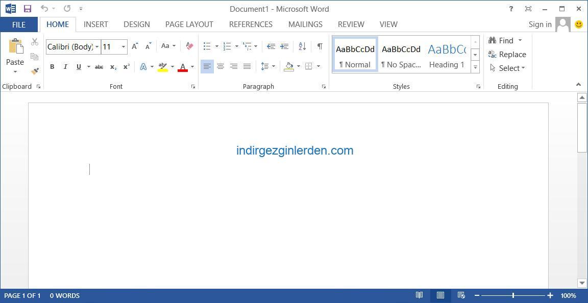 Microsoft Word 2013 Indir Deneme Surumu Demo Gezginler