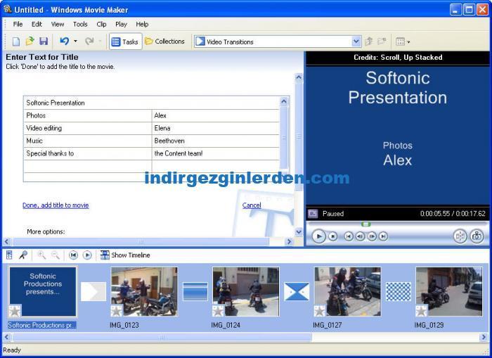 تحميل برنامج windows movie maker 2.6 انجليزي