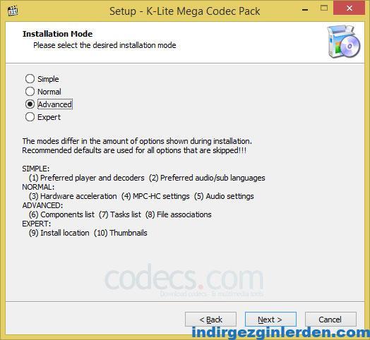 K-Lite Codec Pack 13 ile ilgili görsel sonucu