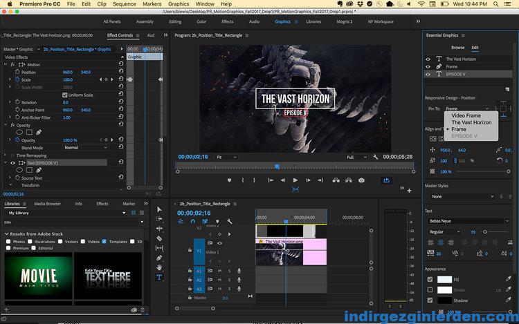 Adobe Premiere Pro 2018 ile ilgili görsel sonucu